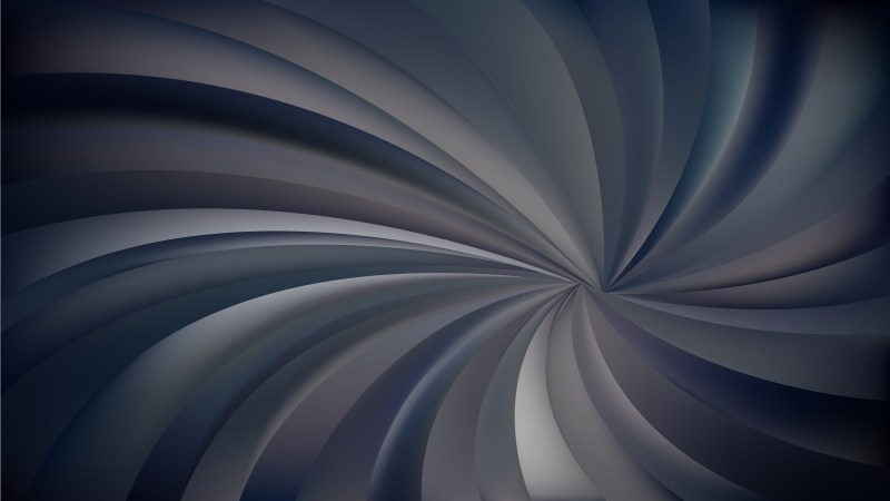 Abstract Black and Grey Swirling Stripes Background
