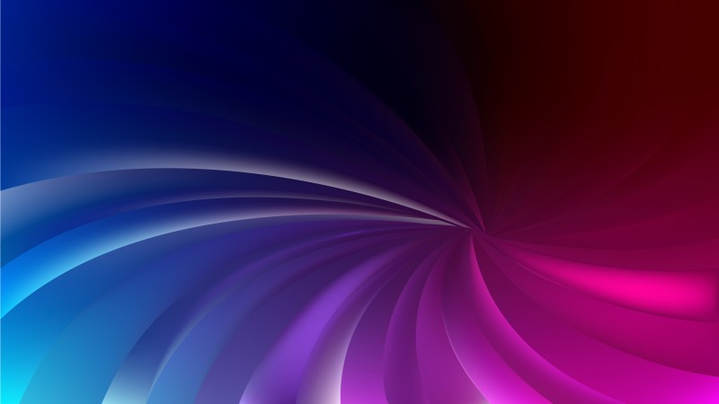 Black Blue and Purple Radial Spiral Rays background Vector