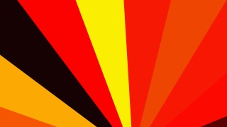 Black Red and Yellow Radial Background