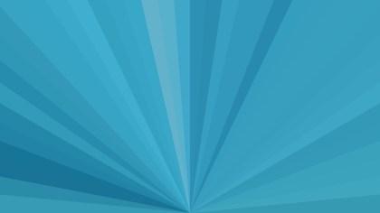Blue Radial Burst Background Image