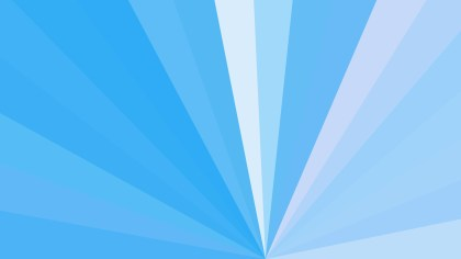 Abstract Blue Radial Burst Background