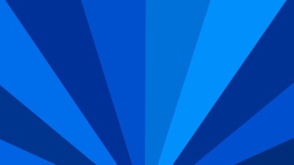Abstract Blue Radial Background Design