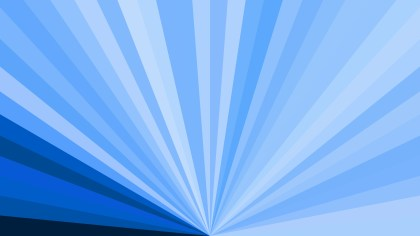 Abstract Blue Radial Stripes Background