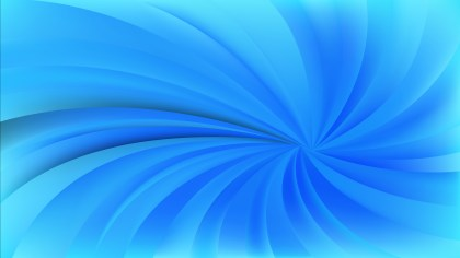 Blue Radial Spiral Rays background Design