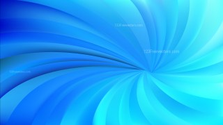 Blue Twisted swirl Background