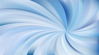 Abstract Blue Radial Swirling Stripes Background Illustrator