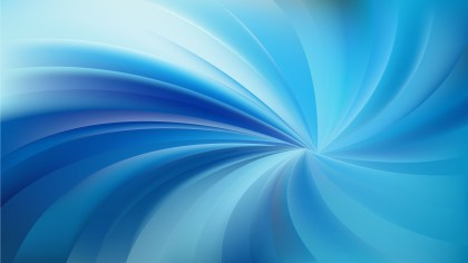 Blue Spiral Rays Background