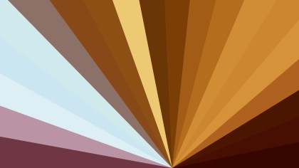 Blue and Brown Burst Background