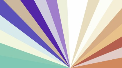 Blue and Brown Radial Stripes Background Vector Graphic