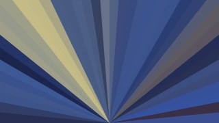 Blue and Gold Radial Background