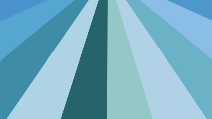 Abstract Blue and Green Radial Stripes Background