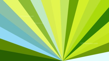 Blue and Green Radial Background