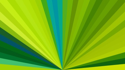 Blue and Green Radial Burst Background Image