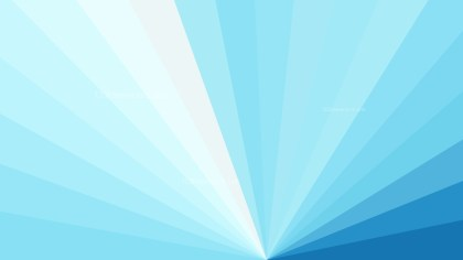Blue and White Radial Stripes Background Vector Graphic