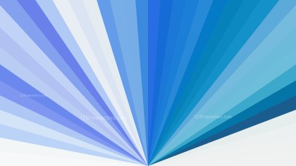 Abstract Blue and White Radial Background