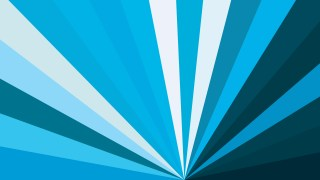 Abstract Blue and White Radial Stripes Background Vector Graphic