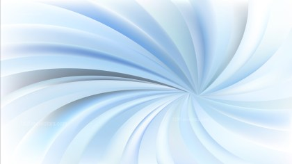 Abstract Blue and White Spiral Background
