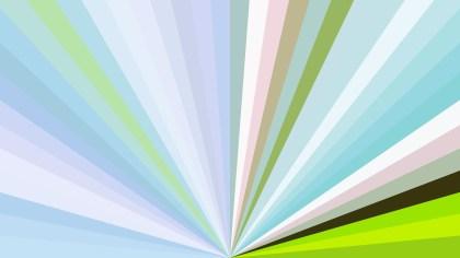 Blue Green and White Burst Background