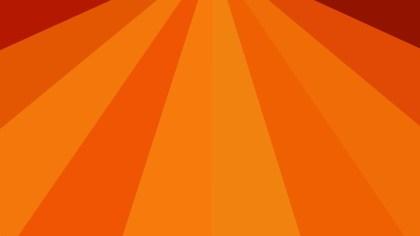 Bright Orange Burst Background