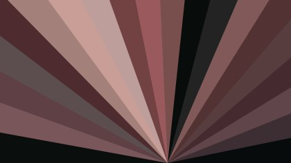 Brown Radial Stripes Background