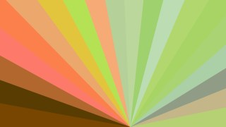 Abstract Brown and Green Radial Stripes Background