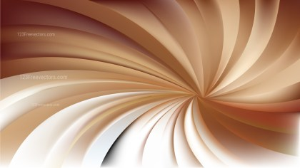 Brown and White Spiral Background Image