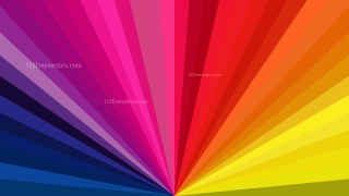 Colorful Radial Burst Background Image