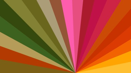 Abstract Colorful Radial Background