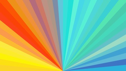 Abstract Colorful Radial Burst Background Image