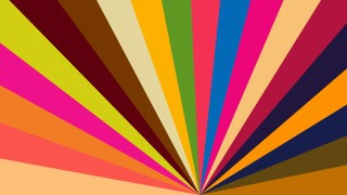Colorful Burst Background