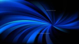 Cool Blue Spiral Rays Background Illustration