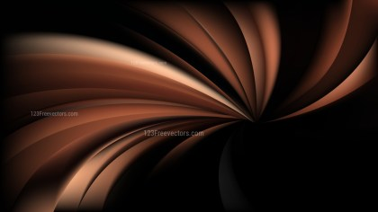 Cool Brown Spiral Background