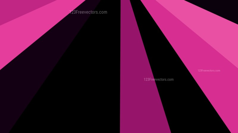 Abstract Cool Pink Radial Stripes Background