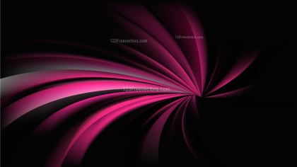 Cool Pink Spiral Rays Background Vector Illustration
