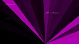 Abstract Cool Purple Radial Stripes Background