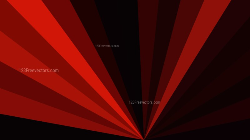Cool Red Radial Burst Background Image