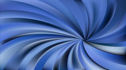 Abstract Dark Blue Spiral Background Illustration