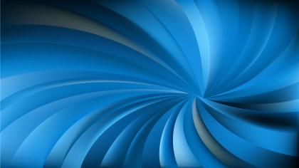 Abstract Dark Blue Twisted Spiral Rays Background