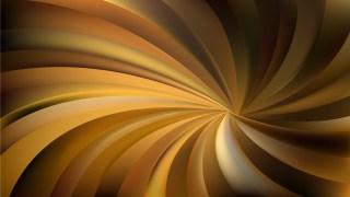 Abstract Dark Brown Swirling Radial Vortex Background