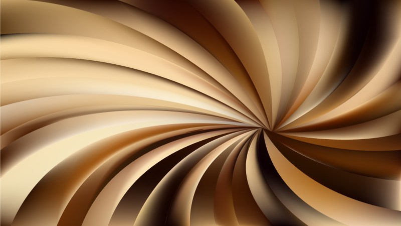 Abstract Dark Brown Spiral Background