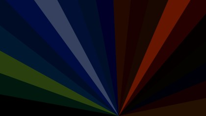 Dark Color Rays Background Illustration