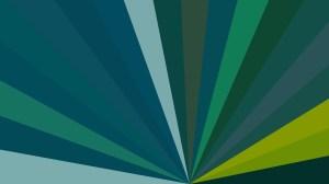 Dark Green Radial Background