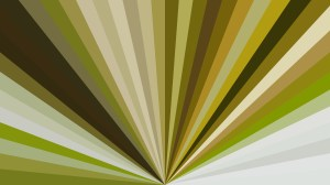 Dark Green Radial Stripes Background