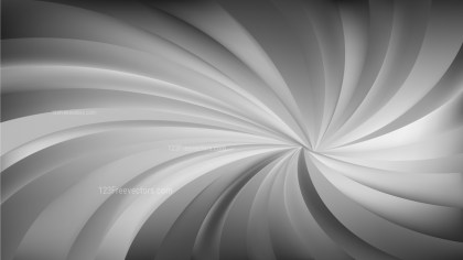 Abstract Dark Grey Swirling Radial Background