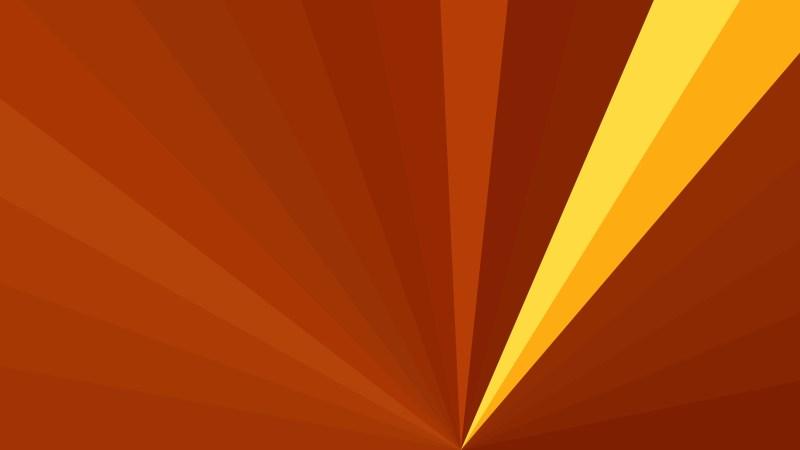 Abstract Dark Orange Radial Burst Background Image
