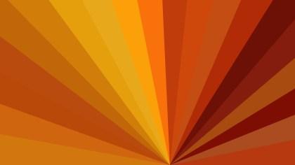 Abstract Dark Orange Radial Stripes Background