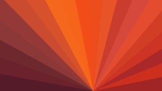 Dark Orange Radial Stripes Background