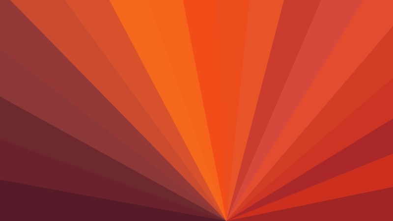 Dark Orange Radial Stripes Background