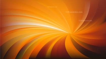Dark Orange Swirling Radial Background