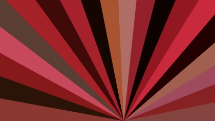 Dark Red Radial Background Design